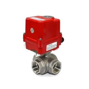 자동밸브 3way Ball Valve(SUS316)