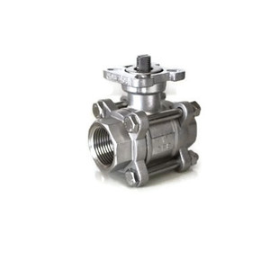 3PIECE Ball Valve(ISO PAD/자동용)SUS304